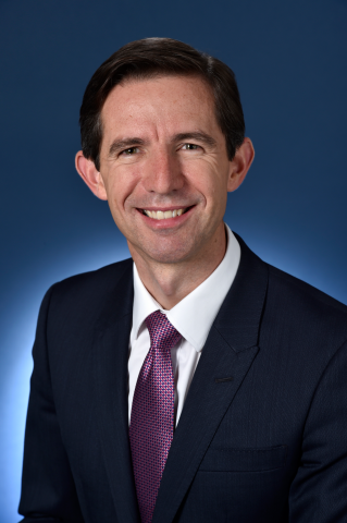 Portrait of Senator the Hon Simon Birmingham, Minister for Trade, Tourism and Investment