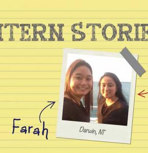 Intern stories: Farah and Baz