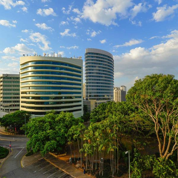 Darwin City central business district