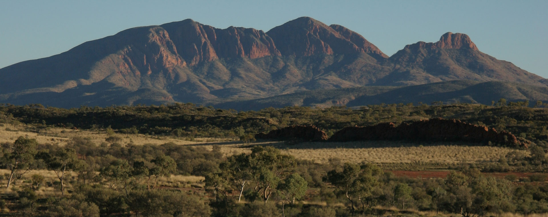 View of the range in West MacDonnell National Park